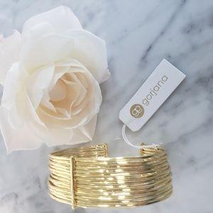 Gorjana Gold Josey Cuff Bracelet NWT